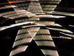 Ferris wheel with extreme camera movement.